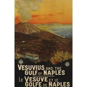 VESUVIUS GULF OF NAPLES TRAVEL TOURISM ITALY ITALIA