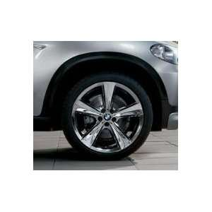 BMW OEM Wheel & Tire Pack. X6 21 Chrome Rims style 128