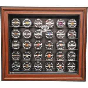 Columbus Blue Jackets 30 Puck Cabinet Style Display Case