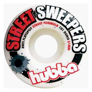 Hubba Street Sweepers 53mm (4 Wheel Pack) Sports