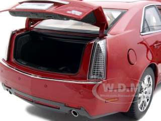 2009 CADILLAC CTS RED 118 DIECAST MODEL CAR KYOSHO