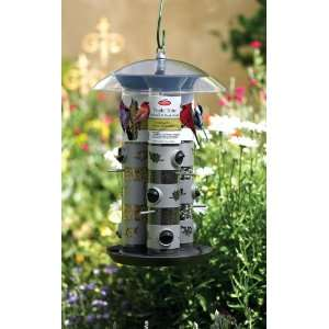 Triple Tube Bird Feeder, Sky Buffet