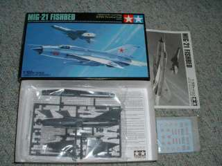 Tamiya 1/100 MIG 21 Fishbed   old kit