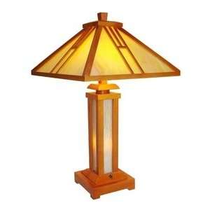 Tiffany and Mission style Table Lamp Electronics