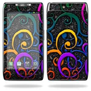 Protective Vinyl Skin Decal Cover for Motorola Droid Razr