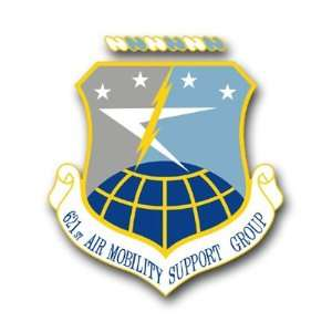 Air Mobility Support Group Decal Sticker 3.8 6 Pack