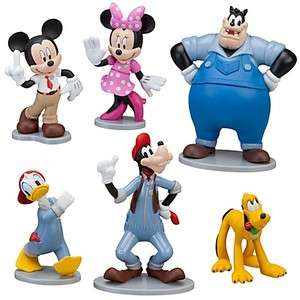 Disney MICKEY MOUSE CLUBHOUSE Cake Toppers Play Set NEW
