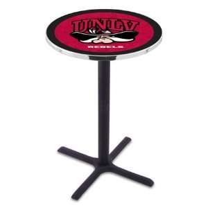 42 UNLV Bar Height Pub Table   Cross Legs   NCAA