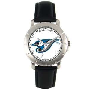 TORONTO BLUE JAYS Beautiful Glass Crystal Face Player Series WATCH