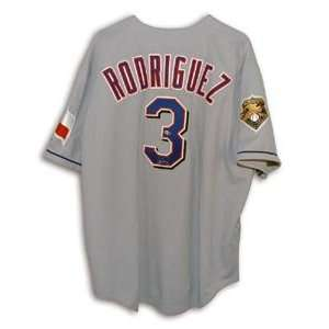 Alex Rodriguez Signed Texas Rangers Rawlings Grey Authentic Jersey w