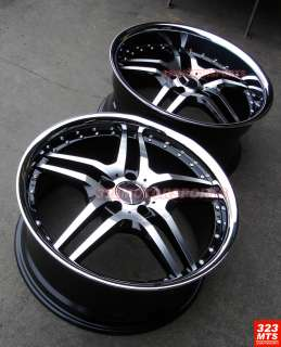 20 BENZ SL CLS CLASS WHEELS RIMS RODERICK RW2 MBZ WHEELS