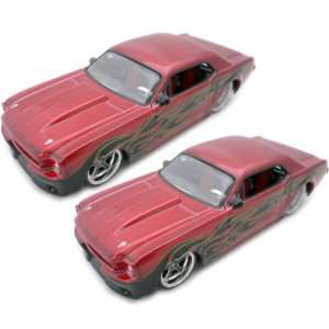 Scale Die Cast Car *1965 Mustang Hard Top Model*  M. Red Toys & Games