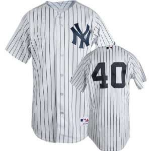 Home Pinstripe Authentic New York Yankees Jersey