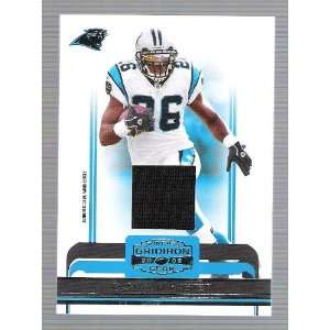 Gridiron Gear   DeShaun Foster   Game Worn Jersey Card