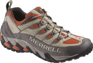 Merrell Men Refuge Pro Vent Taupe Hiking Shoes 14 M