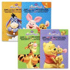 New Disney Winnie The Pooh Coloring Activity Book, Tigger, Eeyore