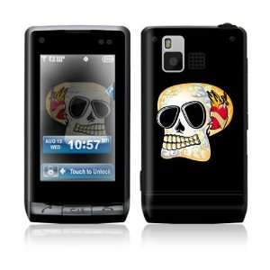 LG Dare VX9700 Skin Sticker Decal Cover   Skull