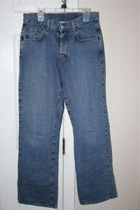 Lucky Brand Dungarees Jeans #40 Low rise Easy Fit Flare Size 4/27