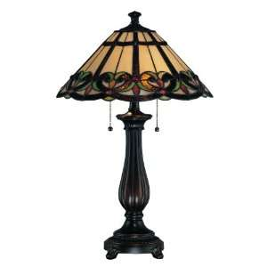 Lite Source C41130 Elodie Table Lamp, Dark Bronze with