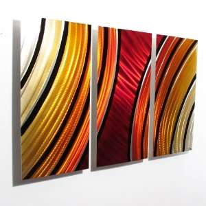 Starburst Modern Abstract Metal Wall Art Painting Sculpture Decor
