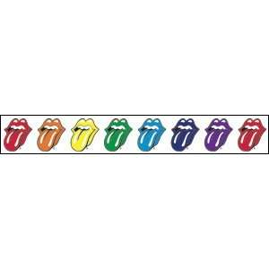 THE ROLLING STONES TONGUE STRIP STICKER