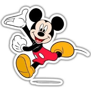 Mickey Mouse Disney car bumper sticker decal 4 x 4