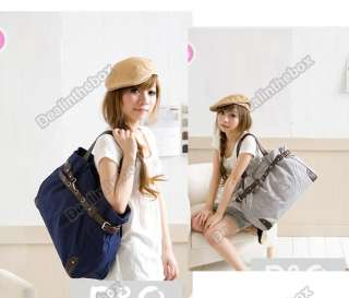 2012 New Korean Style Fashion Cute Girl Casual Canvas Bag Shopper Boat