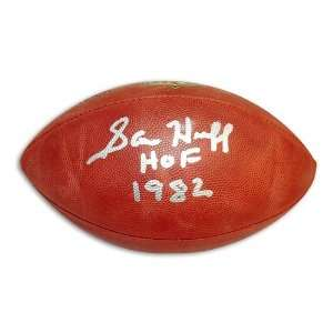 Sam Huff Autographed/Hand Signed NFL Football Inscribed