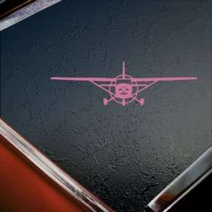Cessna 182 Sky Lane Plane Pink Decal Truck Window Pink