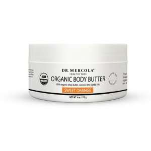 USDA Certified Organic Natural Body Butter   Orange Health