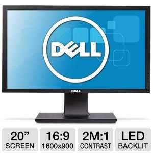 Dell Professional P2011H 20 LED LCD Monitor   169   5 ms