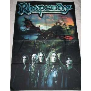 RHAPSODY 5x3 Feet Cloth Textile Fabric Poster