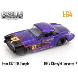 Jada Dub City Big Time Muscle Purple Racing 1957 Chevy
