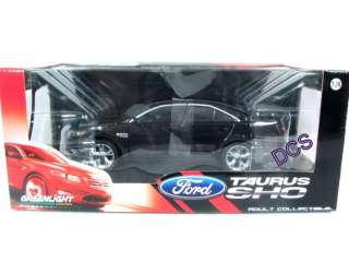 NEW GREENLIGHT 2010 FORD TAURUS SHO Black 1/24 Model