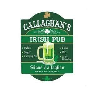 Personalized Irish Pub Sign St. Patricks Day Present