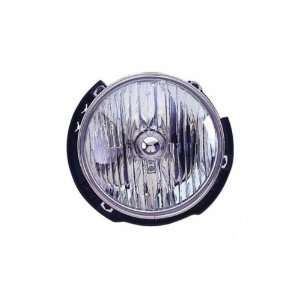 Jeep Wrangler Passenger Side Replacement Headlight