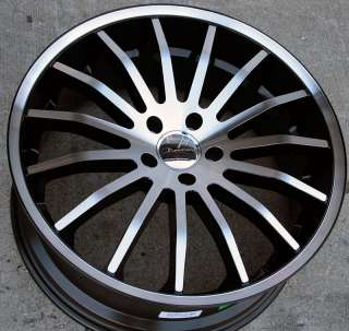 GIOVANNA MARTUNI 20 BLACK RIMS WHEELS 300M CONCORDE