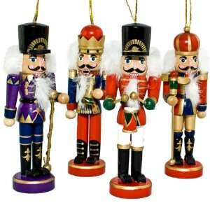 Nutcrackers Ornaments, Wooden Nutcrackers, Christmas Tree Nutcrackers