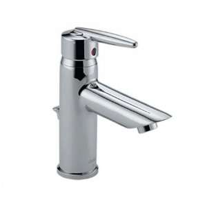 Delta 585 MPU Grail Single Handle Bathroom Sink Lavatory