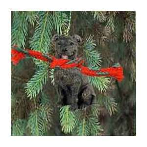 Staffordshire Bull Terrier Miniature Dog Ornament