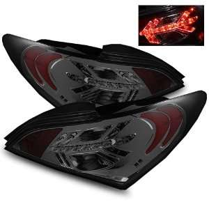 09 11 Hyundai Genesis Smoke LED Tail Lights Automotive