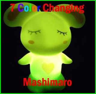 Mashimaro 7 Color Changing LED Candle Lamp lights LED