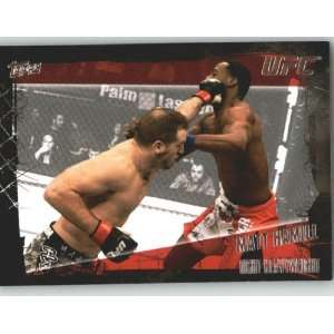 2010 Topps UFC Trading Card # 104 Matt Hamill (Ultimate