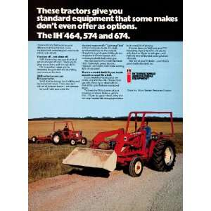 1977 Ad International Harvester Agricultural Equipment Farming Tractor