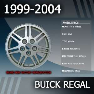 2000 2004 Buick Regal Factory 16 Replacement Wheel