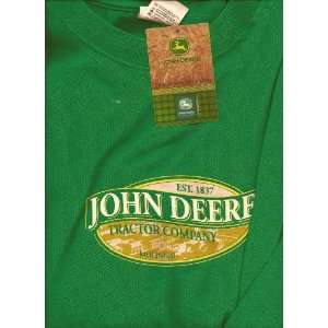John Deere Tractor Company T Shirt X Large Everything