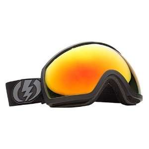 Electric EG2 Snowboard Goggles Matte Black/Red Sports