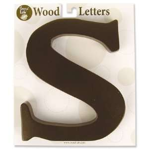 Nursery Baby Decorative Wooden Letter S Baby