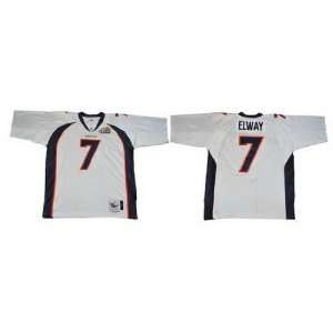 Mitchell & Ness Mens NFL Throwback Football Jersey   Denver Broncos #7