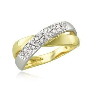 YELLOW GOLD Diamond Ring Diamond quality A (I1 I2 clarity, H I color